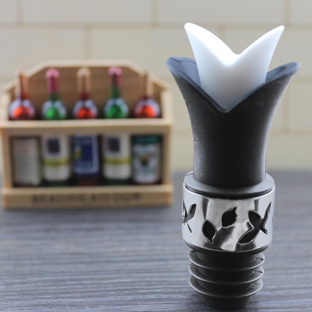 Silicone Wine Bottle Stoppers | Food Grade Durable Wine Bar Tool